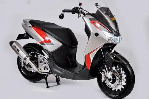 Modifikasi Yamaha Lexi 125 Terbaik